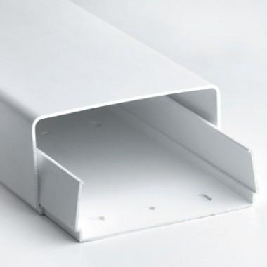 AIR70400 | Короб для кондиционера (основание+крышка) 70х40 мм