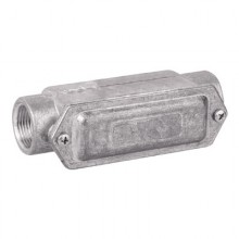 Коробка протяжная алюминиевая, 2 ввода 180°, М50х1,5 ,IP55, 171х62х71мм