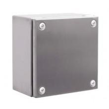 Сварной металлический корпус CDE из нержавеющей стали (AISI 304), 400 x 400 x 120 мм