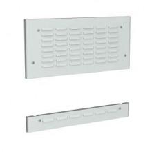 Перфорированные накладные панели, высота верх=100мм низ=100мм для шкафов DAE/CQE Ш=400мм,1 упак-2шт.