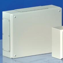Сварной металлический корпус CDE, 400 x 200 x 80 мм, IP66