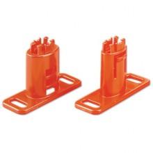 Комплект крепления для напольной установки проволочного лотка