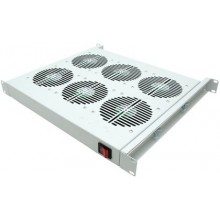 """19"""" Вентиляторный модуль, 6 вент. с термостатом"""
