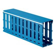 Короб перфорированный, синий RL75 25x30