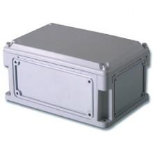 Корпус 600х300х146 IP67 фланцы, непрозрачная крышка (выс.крышки 21)