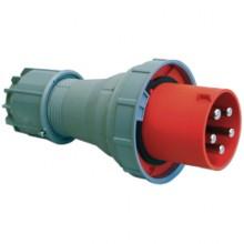 Вилка кабельная IP67 125A 2P+E 230V