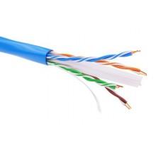 Информационный кабель неэкранированый U/UTP 4х2 CAT6, PVC, синий