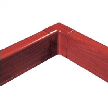 AIR10042B | Внутренний угол для плинтусного короба 100х40 мм (ламинированный под дерево)