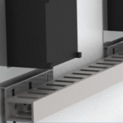 Комплект держателей перфокороба, для отверстия 96x96мм, 1 упаковка - 10 шт.