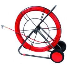 Устройство закладки кабеля на вращ. барабане,стеклопруток д.9мм, длина 80 м
