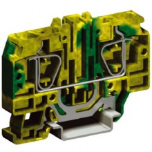 HTE.10, зажим для заземления, 10 кв.мм желто-зеленый