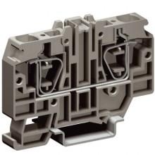 HMM.10/GR, проходной зажим серый 10 кв.мм