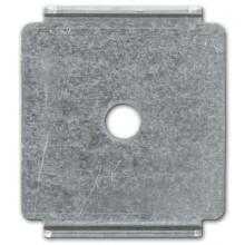 Пластина для подвеса проволочного лотка на шпильке, нержавеющее