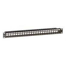 """Патч-панель наборная 19"""",1U, под 24 модуля Keystone, UTP/STP"""