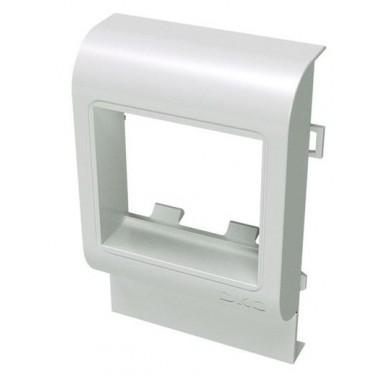 00515 | PDA-45N 120 Рамка-суппорт под 2 модуля 45x45 мм