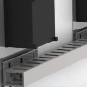 Комплект держателей перфокороба, для отверстия 72x72мм, 1 упаковка - 10 шт.