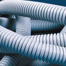 Труба ПВХ гибкая гофр. д.16мм, лёгкая без протяжки, 100м, цвет серый