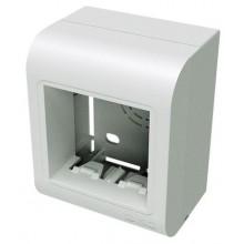 PDB Коробка монтажная под 2 модуля Brava