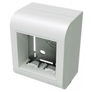 10034 | PDB Коробка монтажная под 2 модуля Brava