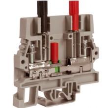 SCB.6/CD, тестовый с разъединителем для амперметра 6 кв.мм бежевый