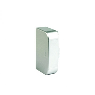 01405G | Заглушка 140х50 мм, цвет серый металлик