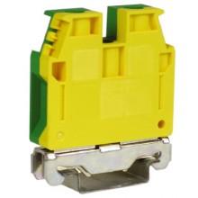 TEC.16/O, зажим для заземления желт.зелен 16 кв.мм