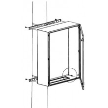 Комплект крепления шкафов CE/RAM box к столбу (ширина шкафа - 300 мм)