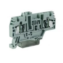 HMFA.2/L12, держатель предохранителя, 2,5 кв.мм, серый с микросхемой LED 112 В