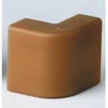 AEM 22x10 Угол внешний коричневый (розница 4 шт в пакете, 20 пакетов в коробке)