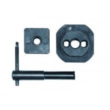 Набор для пробивки отверстий стыков лотков ДКС (матрица, пуансон, ключ)