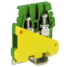 TR.4, зажим для заземления желт.зелен 4 кв.мм
