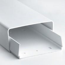 Короб для кондиционера (основание+крышка) 90х40 мм