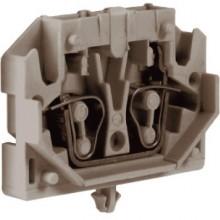 HPC.2GR, мини зажим, проходной 2,5 кв.мм серый