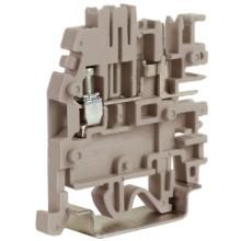 Клеммный зажим со штыревыми контактами. Тип VPC.2/GR. Серый. 2,5 кв.мм.