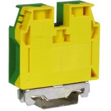 TEC.35/O, зажим для заземления желт.зелен 35 кв.мм