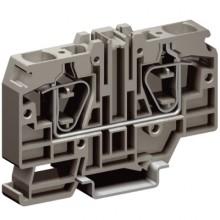 HMM.16/GR, проходной зажим серый 16 кв.мм