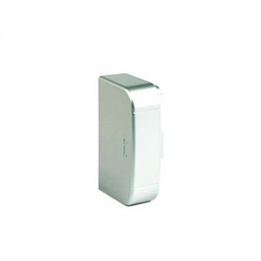 01005G | Заглушка 110х50 мм, цвет серый металлик