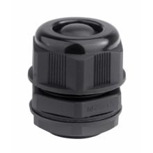 Кабельный ввод IP68, M20, с мембраной, черный, для кабеля d.6-12mm