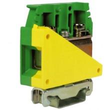 TE.50/O, зажим для заземления желт.зелен 50 кв.мм