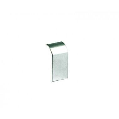 09509G | Накладка на стык профиля 90х50 мм, цвет серый металлик