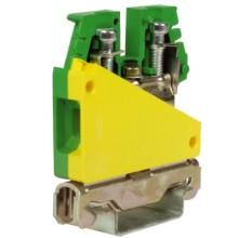 TE.10/O, зажим для заземления желт.зелен 10 кв.мм