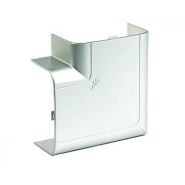 01403G | Угол плоский 140х50 мм, цвет серый металлик