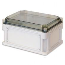 Корпус 300х150х160 IP67 фланцы, прозрачная крышка (выс.крышки 35)
