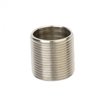 6051-20 | Ниппель M20x1,5, никелированная латунь