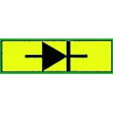 SFR.4/I1A Патрон-вставка с диодом 1А