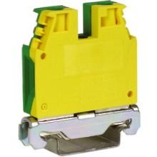 TEC.10/O, зажим для заземления желт.зелен 10 кв.мм