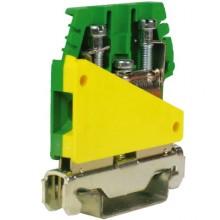 TE.4/6/O, зажим для заземления желт.зелен 6 кв.мм
