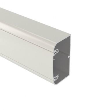 11199 | Алюминиевый кабель-канал 110х50 мм (с 1 крышкой), цвет белый