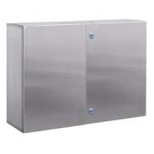 Навесной шкаф CE из нержавеющей стали (AISI 304), 1200 x 600 x 300мм, с фланцем