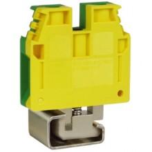 TEC.16/D, зажим для заземления желт.зелен 16 кв.мм